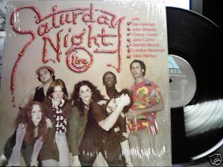 SATURDAY NIGHT LIVE self titled LP 1976 VG+ w/shrink