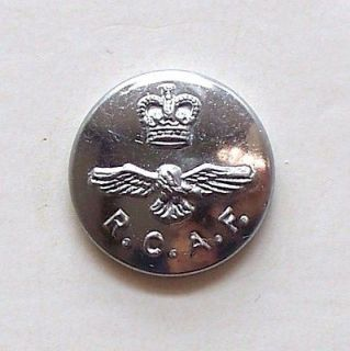 Royal Canadian Air Force Officers Mess Dress Uniform Button / RCAF