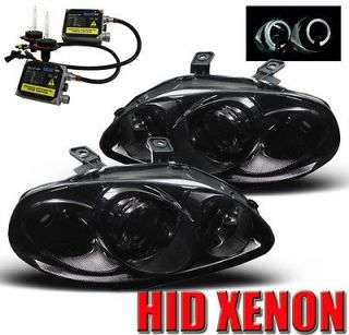 96 97 98 HONDA CIVIC HALO SMOKE PROJECTOR HEADLIGHT+HID (Fits Honda