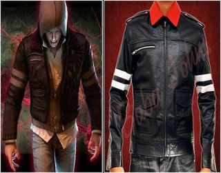 Alex Mercer Prototype PS3 Action Game Mens Leather Jacket With