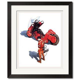 Akira Cyberpunk Kaneda with Laser Gun Poster Print