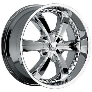 22 inch Chrome Wheels Rims Chevrolet Trailblazer SS GMC Envoy 6x5