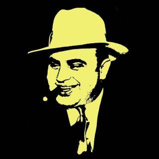 Al Capone American gangster T Shirt BlackSheepShir ts