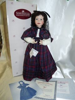 Ashton Drake Galleries Little Women Series Jo by Wendy Lawton in Box