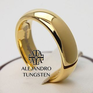 Newly listed Alejandro Tungsten Carbide Ring Brushed 18K Gold Classic