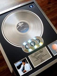 MICHAEL JACKSON THRILLER MULTI PLATINUM DISC RECORD AWARD ALBUM