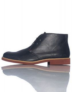 TOMMY HILFIGER BERCH LEATHER CHUKKA SHOE