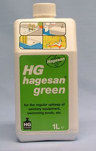 HG Hagesan Green for Sanitary Equipment and Swimming Pool 1 Litre
