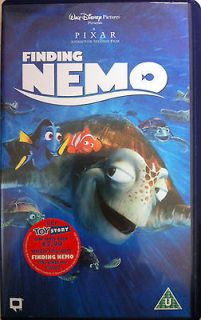 Walt Disney / Pixar FINDING NEMO ~ 2003 Animated Classic  rare UK PAL