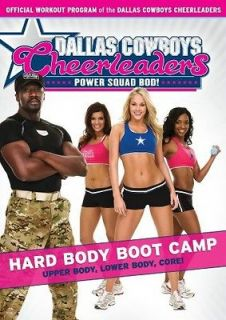 Dallas Cowboys Cheerleaders Power Squad Bod   Hard Body Boot Camp