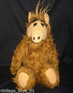 16 BIG LARGE HUGE VINTAGE ALF ALIEN COLECO 1986 DOLL STUFFED ANIMAL