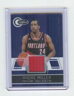 Panini Threads Team Set Portland Trailblazers Roy Oden Miller Aldridge