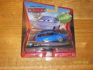 disney cars alex vandel in TV, Movie & Character Toys