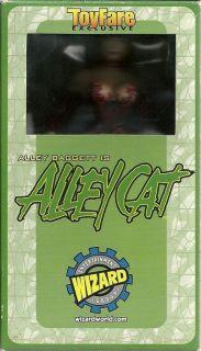 Toyfare Alley Baggett is Alley Cat Action Figure MIB