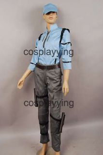Resident Evil 5 Jill Valentine BSAA uniform costume