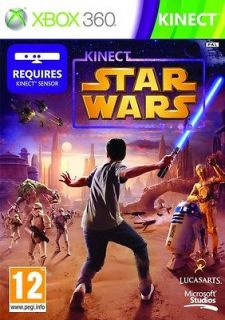 KINECT STAR WARS MICROSOFT XBOX 360 VIDEO GAME NEW SEALED OFFICIAL PAL