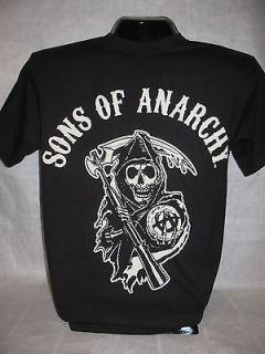 Sons of Anarchy T Shirt SAMCRO Reaper Tee TV Show Est 1967 Apparel New