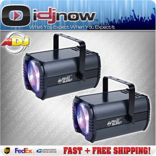 American DJ Revo Burst LED RGBW DMX Moonflower Lighting Effect