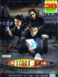Season 3 [2007] David Tennant, BBC Sci fi 13 Episodes 4 Disc DVD BOX