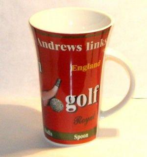 15th Century Golf Coffee Mug St. Andrews Links 20 fl/oz