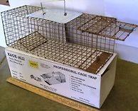 Cat Mink Rabbit Skunk Live animal cage trap KageAll Mod K151 trap.036c