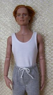 Newly listed White Tank / Muscle Shirt by Kdys for 17 Tonner Rufus