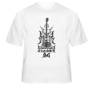 AC/DC Angus Young ACDC Gibson SG Guitar Hard Rock T Shirt