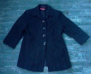 Anne Klein Authentic Peacoat Coat Jacket XL Size 1X Womans Wool