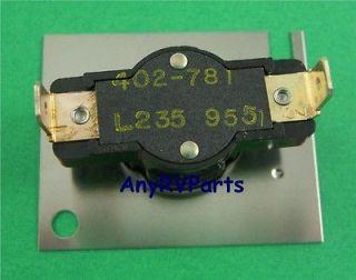 Suburban RV Furnace Heater Limit Switch 231244