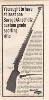 1964 SAVAGE AD ANSCHUTZ MODEL 153 SPORTING RIFLE
