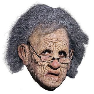 Senior Citizen Foam Latex Prosthetic Mask Moves With Your Face Costume