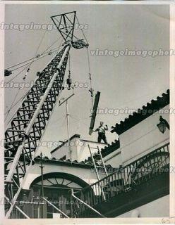1953 WSUN TV Tower Antenna Channel Signal Construction Beam Press