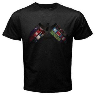 NEW The Avengers T Shirt Tony Stark Arc Reactor Iron Man Tee S 2XL