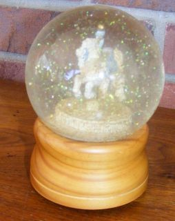 Lefton Carousel Horse The Sting Musical Snow Globe