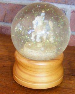 Lefton Carousel Horse The Sting Musical Snow Globe
