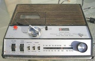 Vintage Craftsman Model 8860 AM/FM/Cassette Portable Radio For Parts