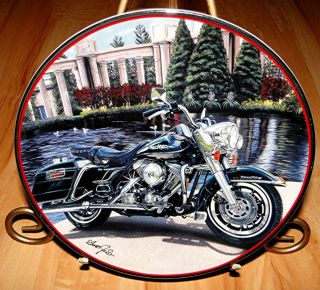 Road King Harley Davidson Motorcycle Franklin Mint Collection Plate