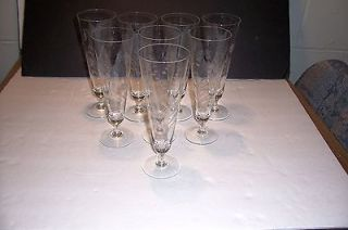vintage glasses 8 in 40s, 50s, 60s