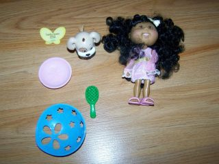 CPK Cabbage Patch Kid Lil Sprouts Doll 5 Vinyl African American Black