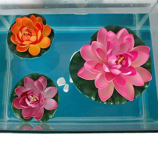 Newly listed 3pcs Aquarium Fish Tank/Pond/Pool Plant Plastic Ornament