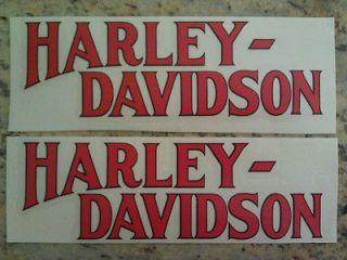 Harley Davidson FXS Lowrider Harley Tank Decals 1977 1978 AMF