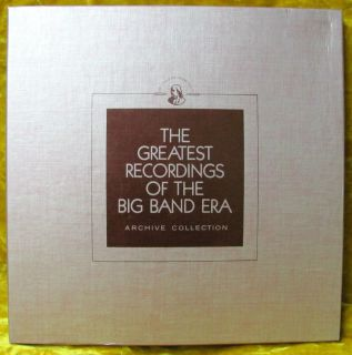 Big Band Era Franklin Mint 19/20 Cha rlie Barnet, Hal Kemp NM