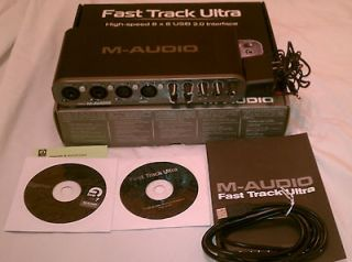Audio Fast Track Ultra USB Mobile/Audio Interface Recording Studio