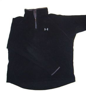 Under Armour Fleece Pull Over Mens XL Black