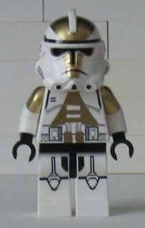 Lego Star Wars CUSTOM Clone Trooper commander minifig 501st army 8014