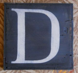 Large Letter D Urban Graphics Alphabet Wooden Letter Boards Chas