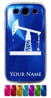 Aluminum Galaxy S3 Case/Cover   PUMPJACK, OIL WELL, PUMP JACK