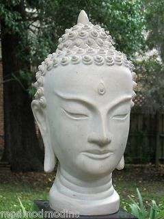 Austin Prod Buddha Head God Goddess Diety Bust Sculpture Asia India