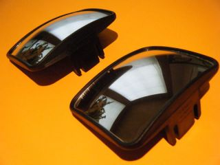 GOLF CART REAR VIEW MIRRORS EZGO CLUB CAR YAMAHA