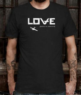 New Angels & And Airwaves AVA Love Tour Rock T Shirt Tee Size L (S to